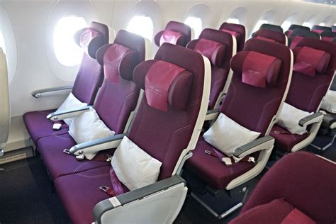 Qatar Airways Interior by Review Qatar Airways Airbus A350 Business And Economy