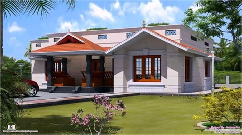 kerala style house plans single floor