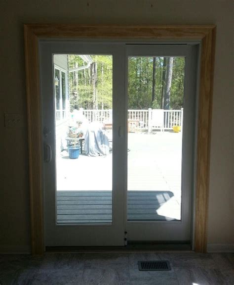 sliding door installation 400 andersen 400 series frenchwood gliding patio door reviews