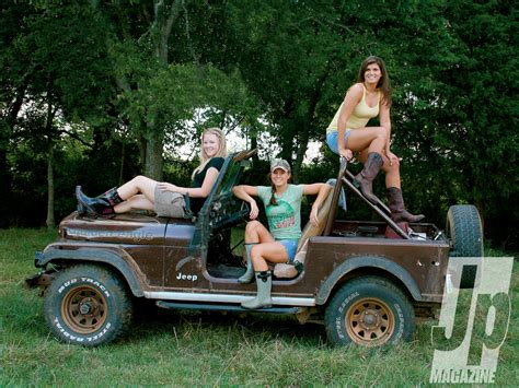 jeep girls ladies jeep offroad 4x4 beauty women
