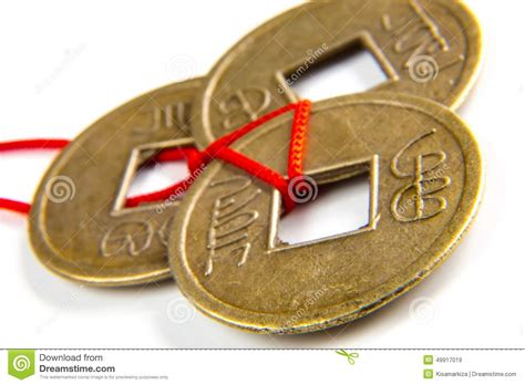 feng shui coins feng shui lucky coins stock photo image 49917019
