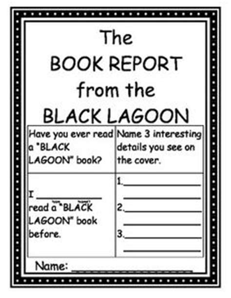 the book report from the black lagoon activities the book report from the black lagoon lexile level
