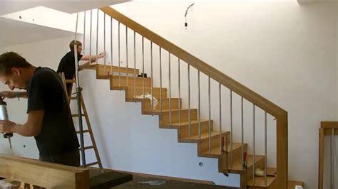 setzstufen verkleiden montage einer treppe mit setzstufen