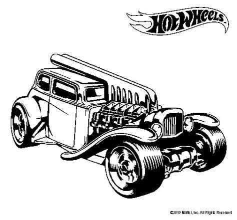imagenes para imprimir hot wheels dibujo de hot wheels 6 para colorear dibujos net