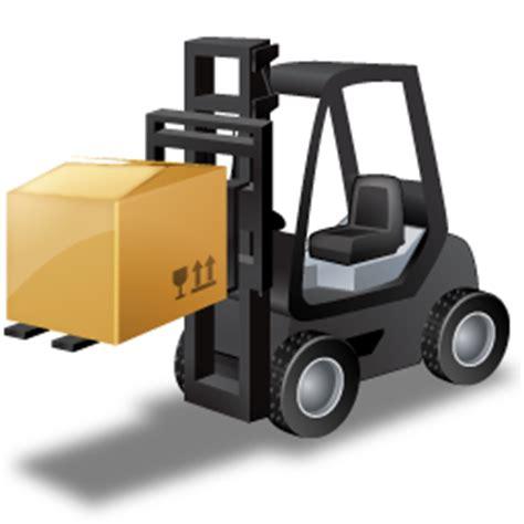 icone lade gabel aufzug lastwagen laden lager transport