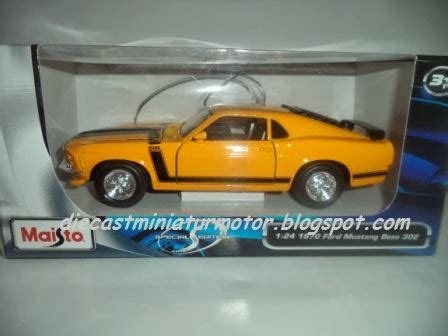 Diecast Mobil Mustang 1 diecast mobil 1970 ford mustang 302 diecast maisto