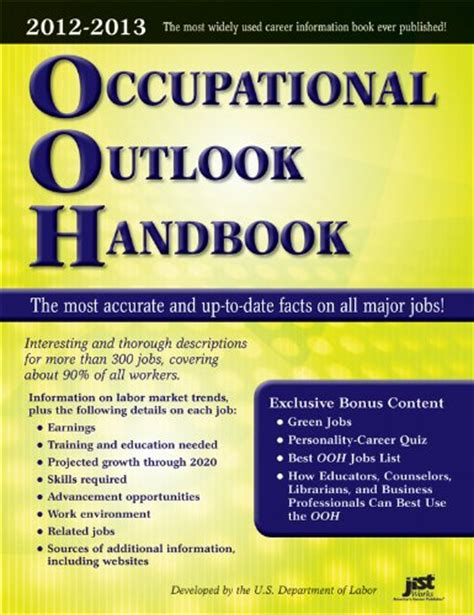 occupational outlook handbook 2018 2019 occupational outlook handbook paper bernan books librarika occupational outlook handbook 2013 2014