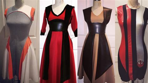 Wars Inspires Fall Fashion by Cool Custom Made Wars Inspired Dresses