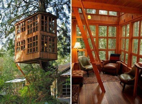 treehouse living the adult tree house tree house living pinterest