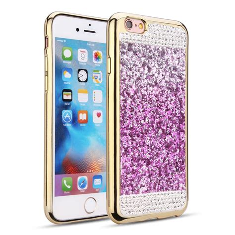 wholesale iphone 7 plus glitter purple