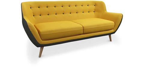 divano due colori divano a 3 posti in due colori stile scandinavo