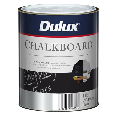 dulux chalkboard paint voc dulux 1l design black chalkboard paint bunnings warehouse