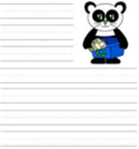 dltk printable writing paper earth day worksheets and activity sheets