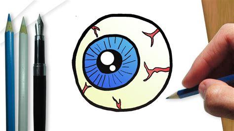 imagenes de ojos halloween c 243 mo dibujar un ojo de halloween youtube