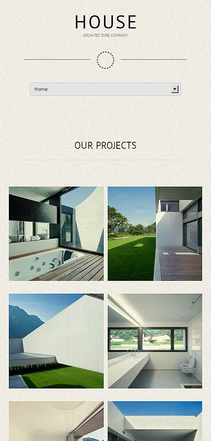 theme bureau construction bureau theme smartphone layout 1