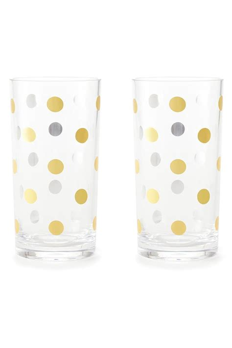 Tumbler Kate Spade New York 1 kate spade new york dots highball tumbler from palm by picnic fashion shoptiques