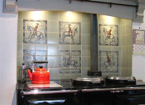 Handmade Tiles Kitchen - aga tiles dressage horses handmade tiles for your