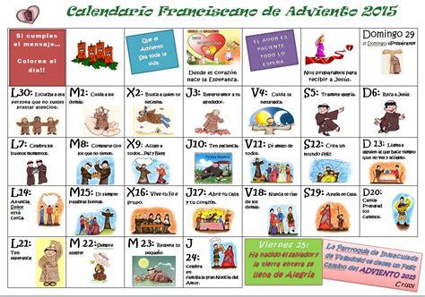 Calendario De Adviento Para Ninos Vida De Gracia Calendario Adviento 2015 Un Prop 243 Sito