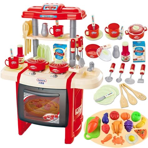 pretend kitchen furniture pretend play kitchen utensils furniture toys for children