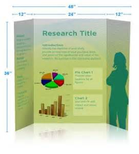 Tri Fold Research Poster Template by Tri Fold Poster Poster Presentation Is A Graphically
