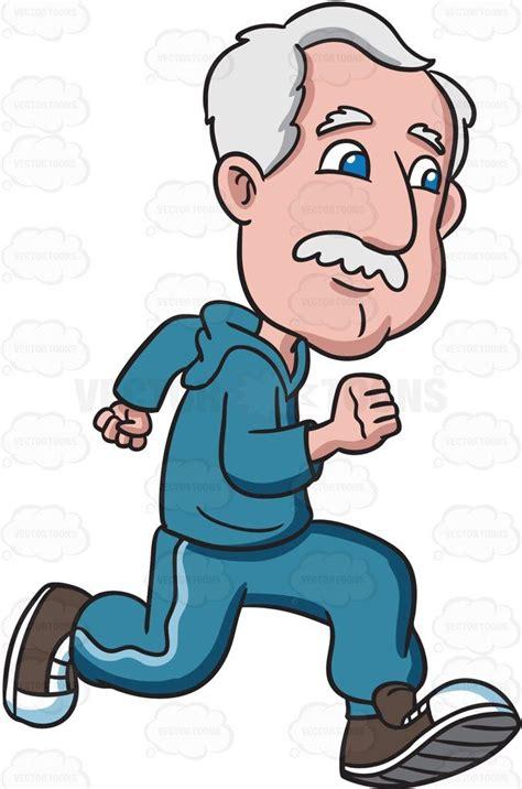 granpa cartoon film video a grandpa running fast cartoon clipart products cartoon