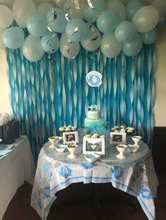 decoraciones de bautizo en casa design bild this great idea baby shower bautismo bautizo y decoracion en globos