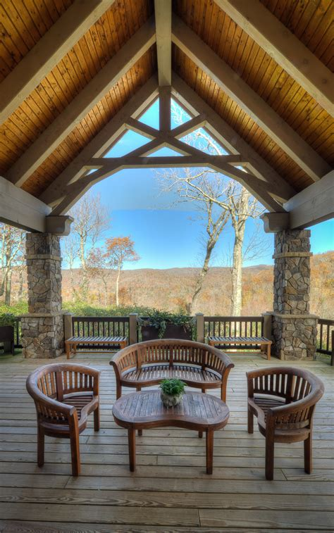 Patio Trusses by Timber Frame Porches
