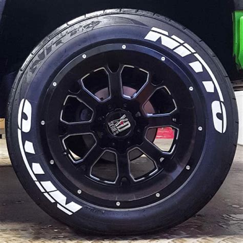 Quote Stickers For Walls nitto tire lettering tire stickers
