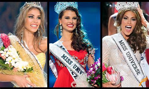 imagenes de las miss universo venezolanas 7 venezolanas conquistaron el universo farandula com