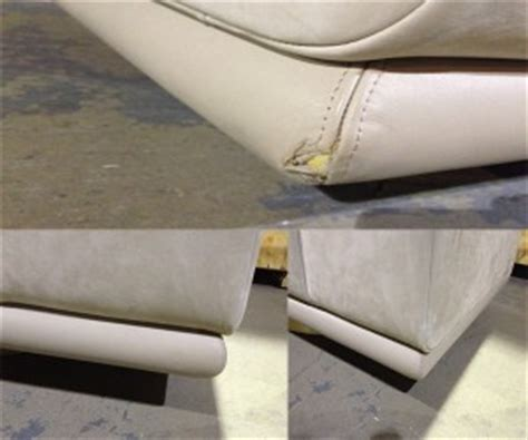 Leather Re Upholstery Service by Leather Repair Cleaning La Furniture Repair Services