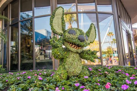 Epcot Flower And Garden Photos 2017 Epcot Flower And Garden Festival Topiaries Mickey