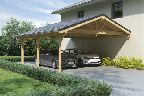 carport bestellen carport mit satteldach aus holz wandanbau bestellen