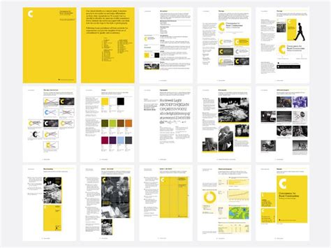 layout brand guidelines 9701 best branding identity images on pinterest visual