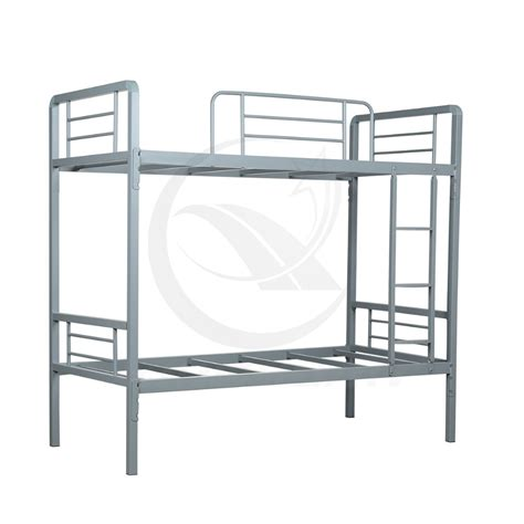 Metal Frame Bunk Bed Metal Frame Bunk Beds Simple And Strong Metal Bunk Bed For School Furniture Buy Cheap Metal L