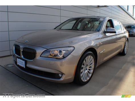 2011 Bmw 750li by 2011 Bmw 7 Series 750li Xdrive Sedan In Silver