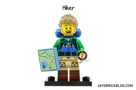 Lego Minifigures Series 16 Hiker 1 review lego minifigures series 16