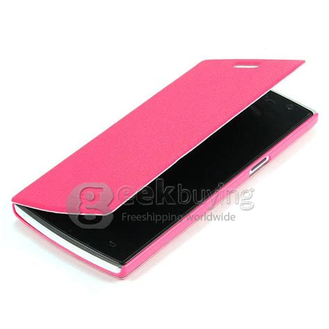 Ipearl New Leather With Stand Pink 1 protective cover flip stand leather for doogee dg580 pink