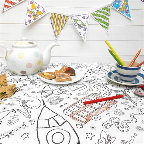 seaside colour in tablecloth eggnogg colouring in colour in tablecloths seaside personalise it option by