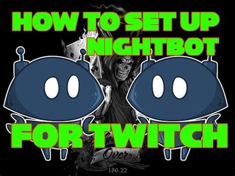 Nightbot Giveaway Command - how to setup nightbot for twitch easy asurekazani