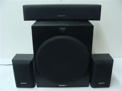 sony speaker system  surround sa  ss srp ss