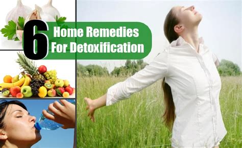 Home Remedies For Detoxing Your From Drugs by 4 Top Home Remedies For Detoxification Care Health