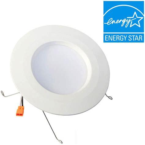 Envirolite Standard Retrofit 5 In 6 In White Recessed Ceiling Light Housing