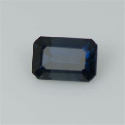 Sapphire Glass Filling 496 Cts emerald cut blue sapphire pep14 gemhunters