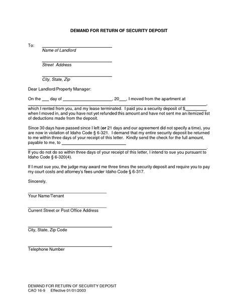 termination of lease agreement letter from landlord awesome lease