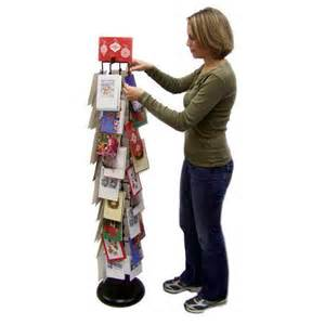 new holiday greeting card display stand holder 56
