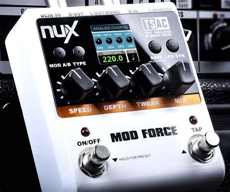 Cherub Efek Pedal Mod nux mod multi modulation effects effects database