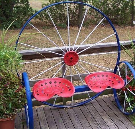 wheel garden bench best 25 wagon wheel garden ideas on pinterest garden