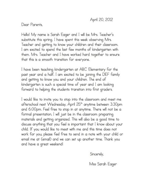 Parent Letter Host Family Sle Best 25 Introduction Letter Ideas On Letter School Parent Welcome Letters