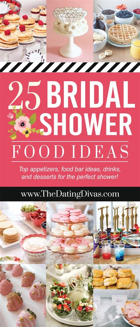 Bridal Shower Food Menu Ideas by 25 Best Ideas About Bridal Shower Menu On
