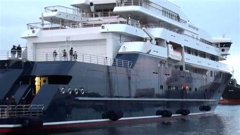 paul allen boat slideshow the octopus paul allen s yacht in torshavn youtube